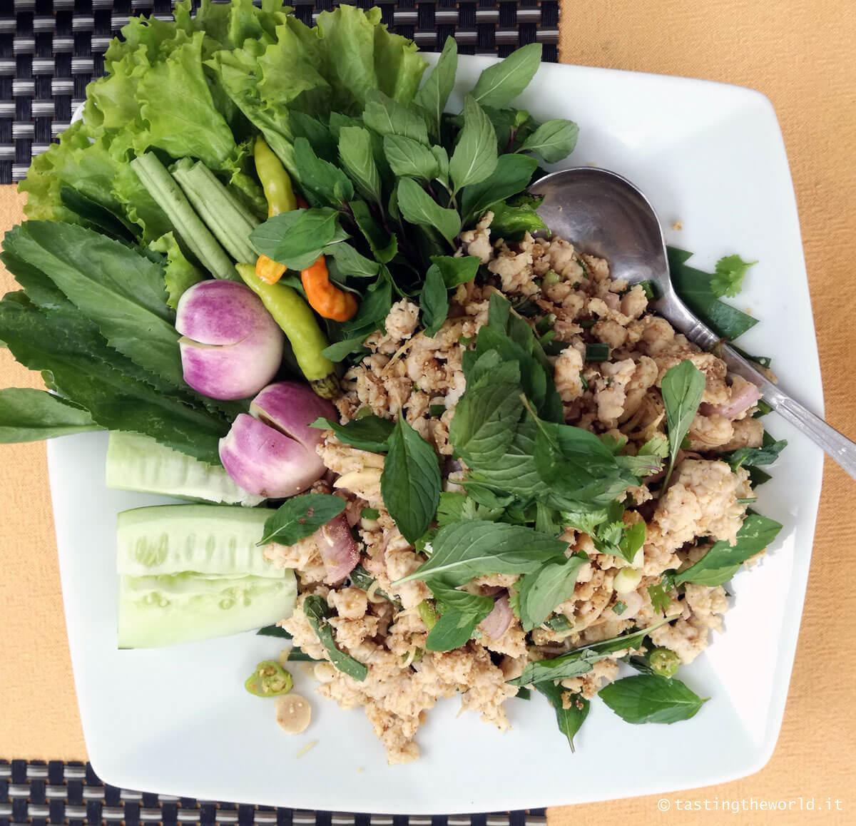 Corso di cucina a Luang Prabang