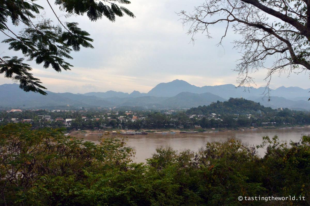 Luang Prabang vista dal Wat Chompet