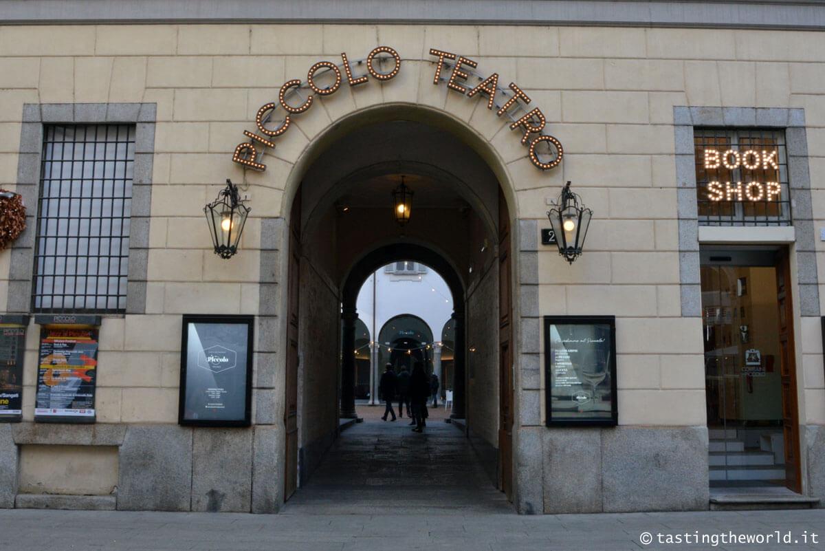 Piccolo Teatro di Milano - i luoghi di Giorgio Gaber a Milano