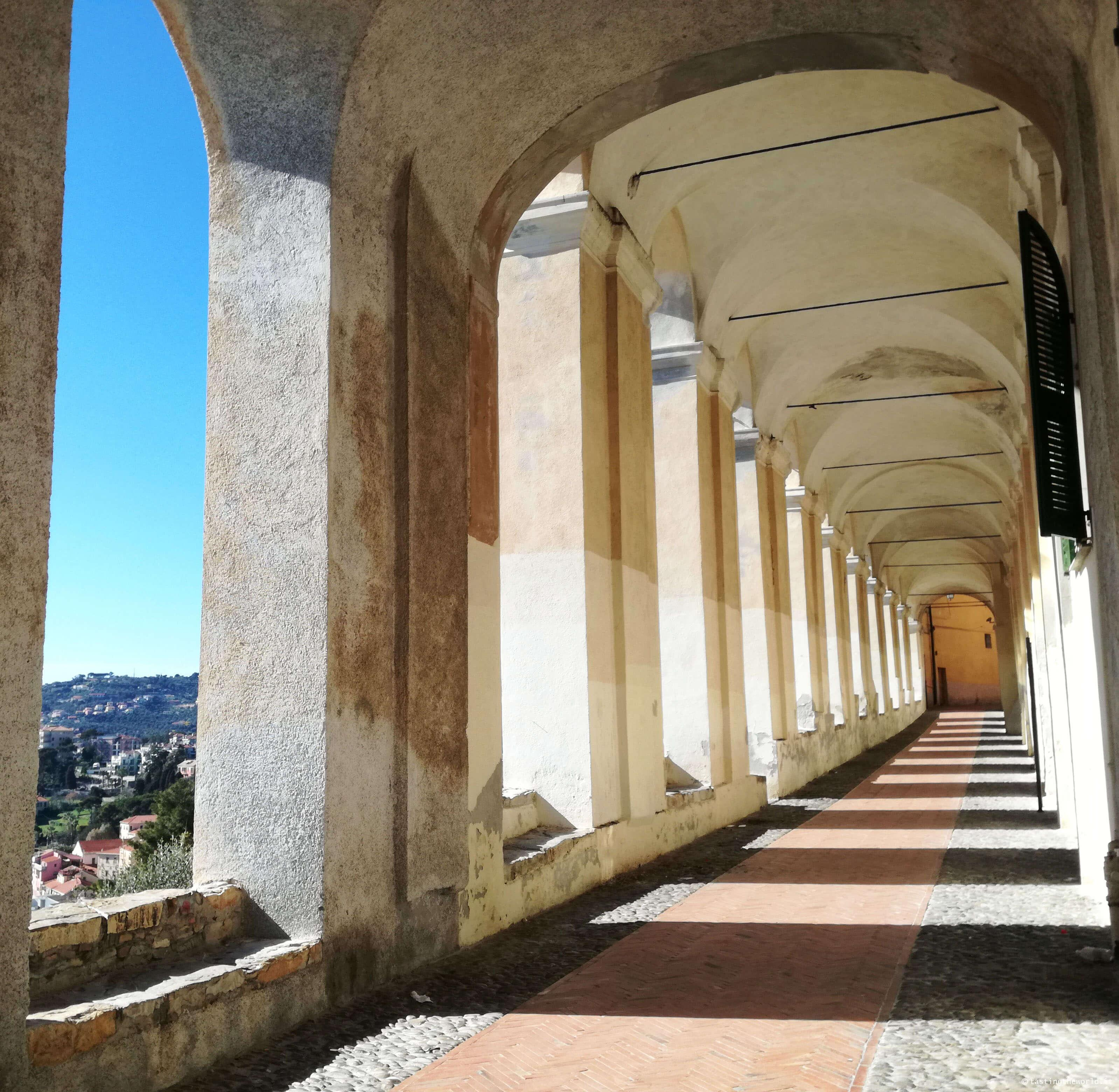 Logge di Santa Chiara, Imperia (Parasio)