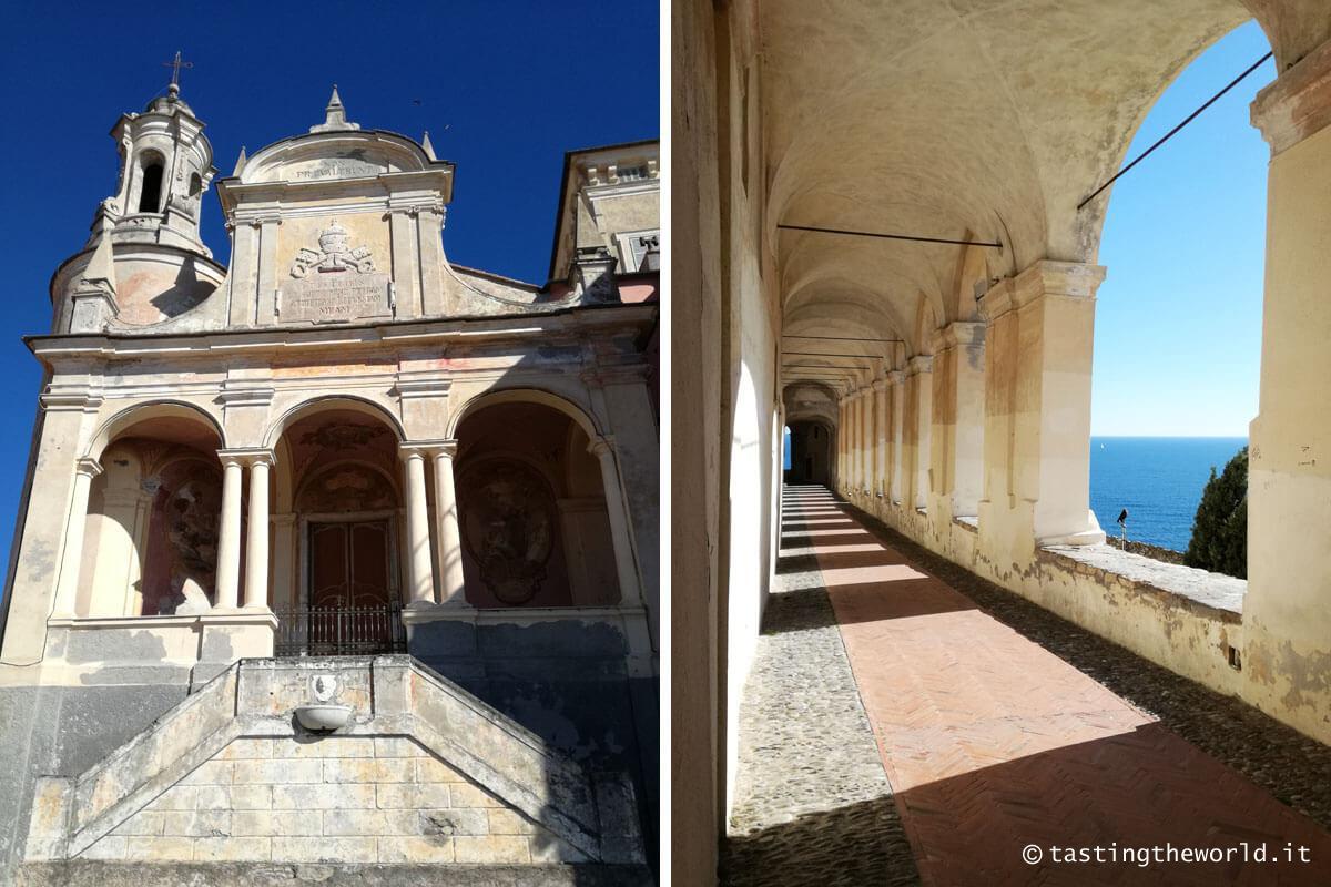 Logge di Santa Chiara e Oratorio di San Pietro, Imperia (Parasio)