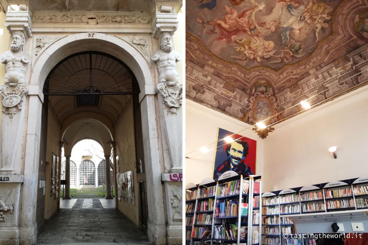 Palazzo Benzoni, oggi Biblioteca Civica di Crema