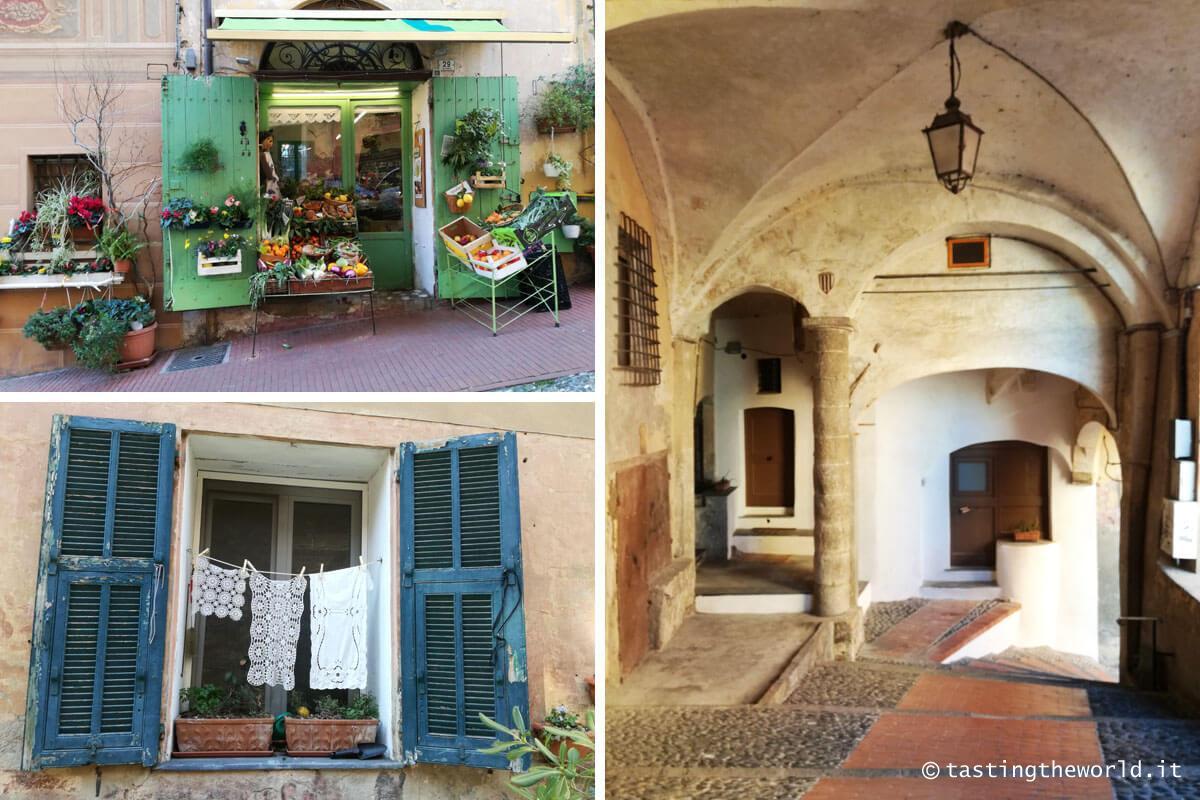 Per le vie del Parasio, Imperia (Porto Maurizio)