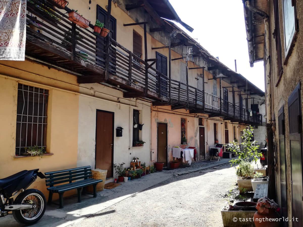 Un cortile di Baggio, Milano