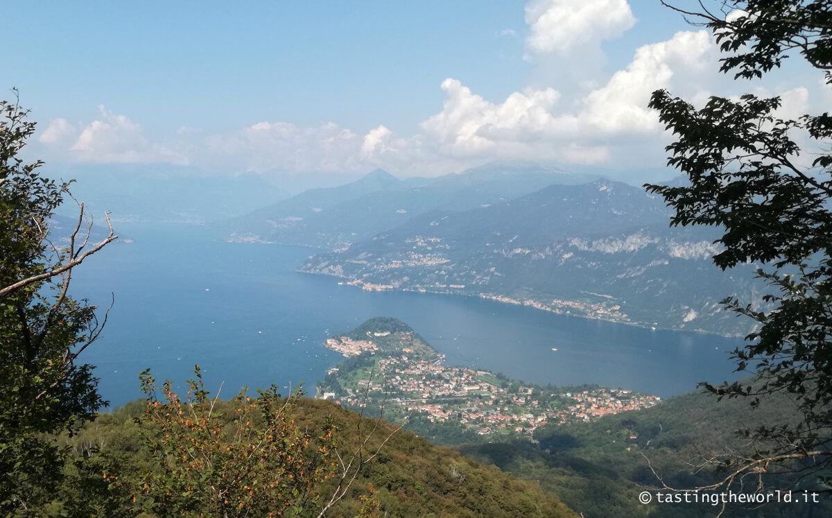 Bellagio (Como) visto dai monti