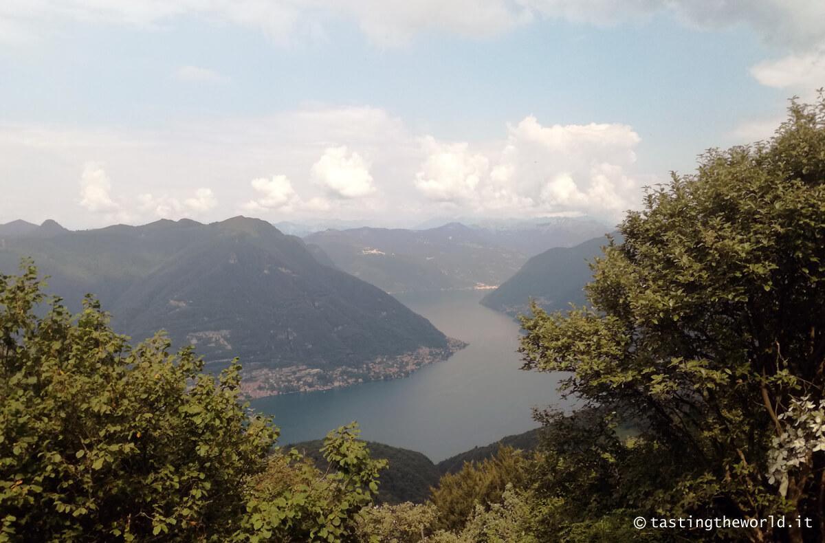Da Como a Bellagio a piedi, trakking lungo la Dorsale Lariana