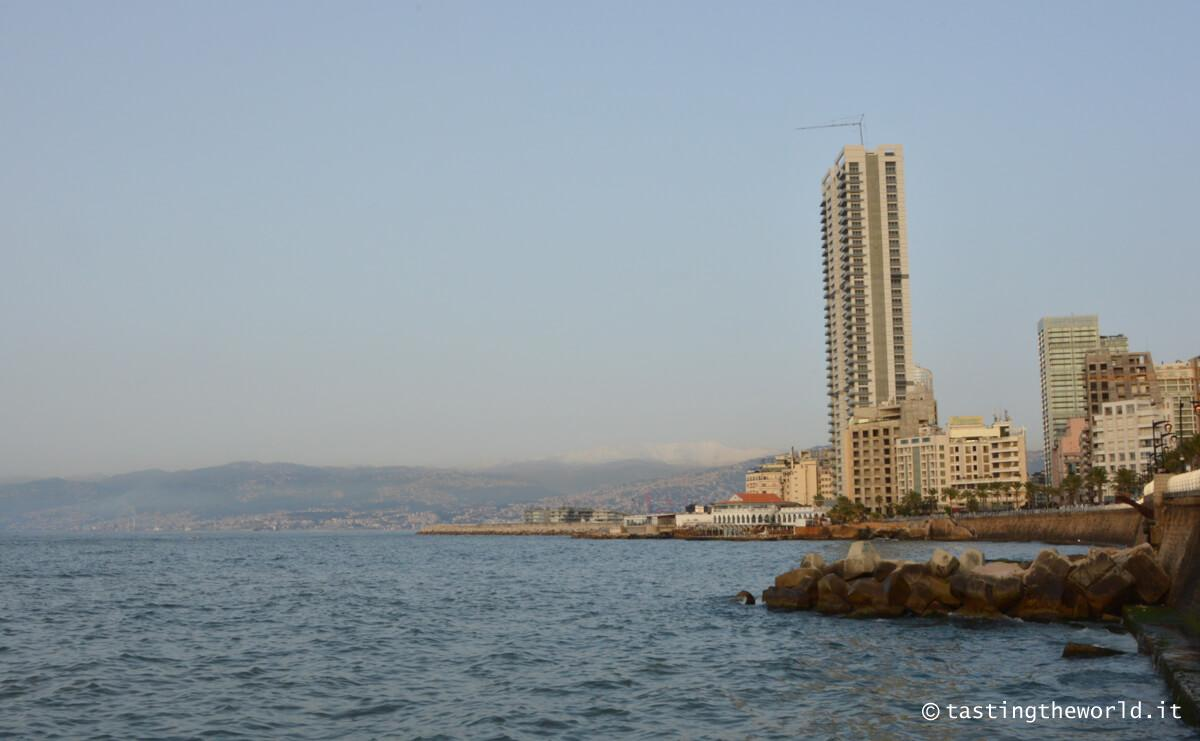 La Corniche, il lungomare di Beirut