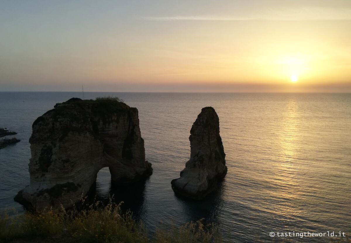 Pigeon Rocks, i faraglioni di Beirut