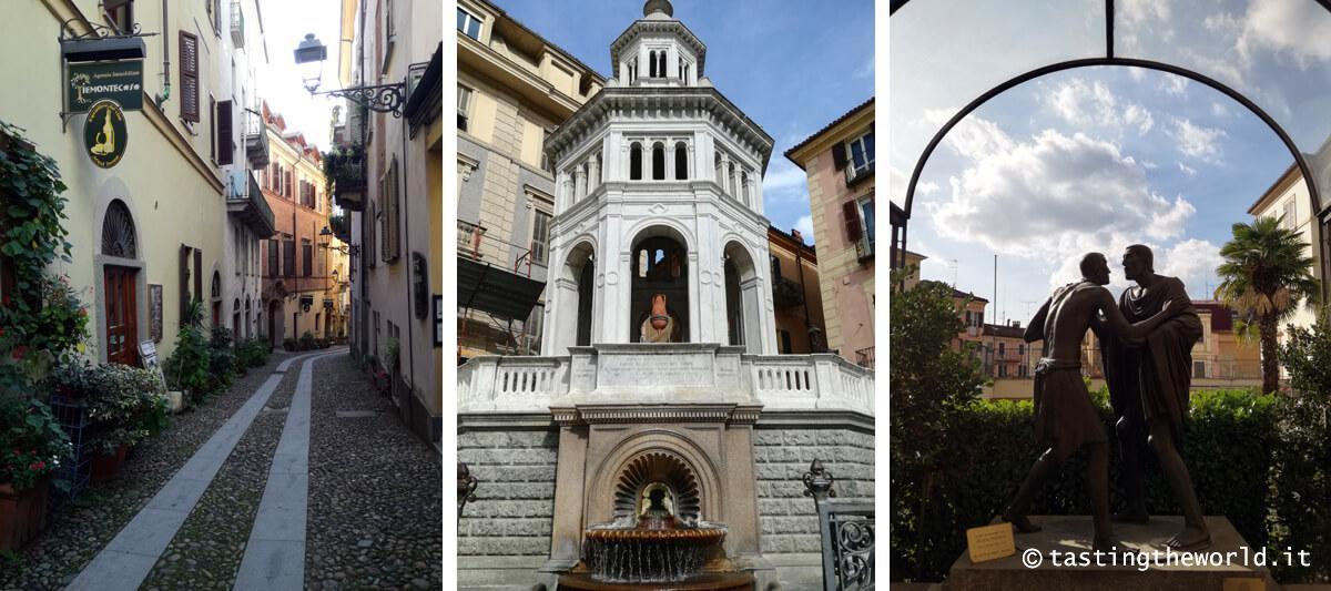 Acqui Terme (AL): la Bollente e scorci del centro