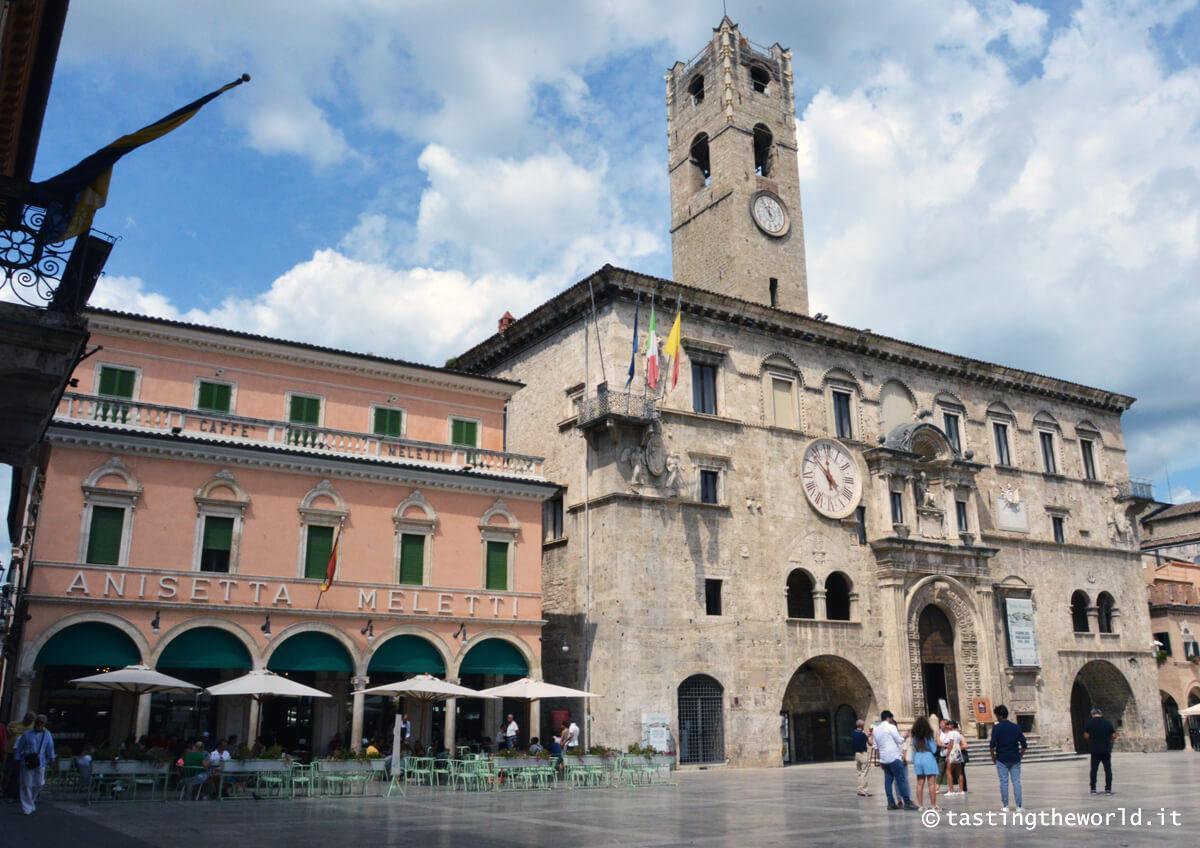 Il centro storico di Ascoli Piceno