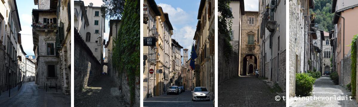Le rue di Ascoli Piceno
