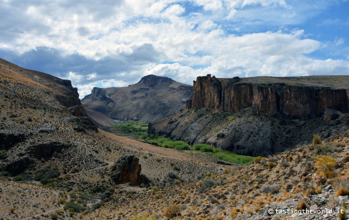 Canyon nei pressi di Perito Moreno, Patagonia (Argentina)