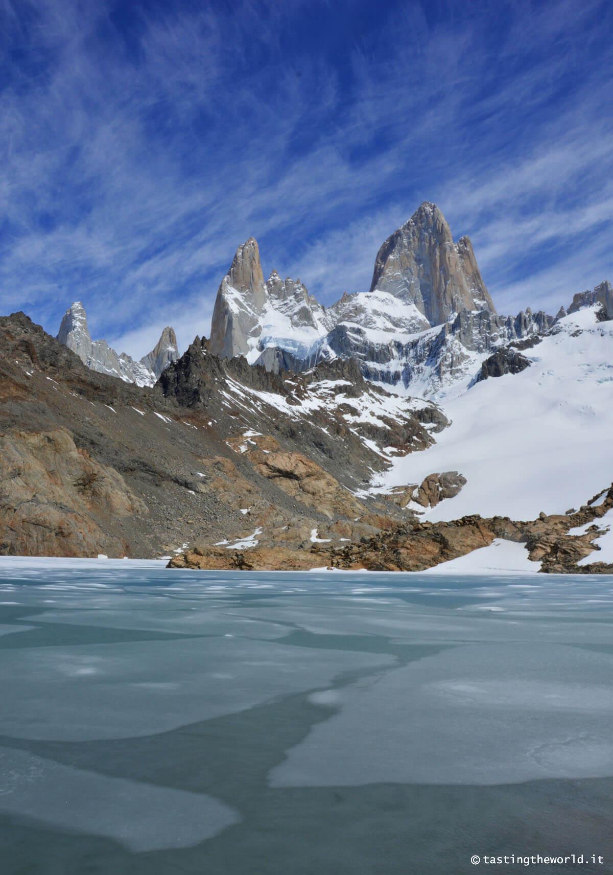 Cerro Fitz Roy e Laguna de Los Tres, El Chaltén - Patagonia, Argentina