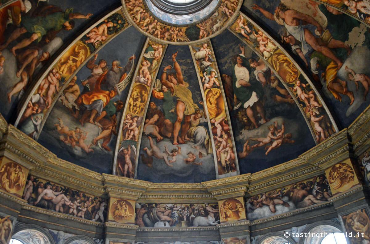 Cupola del Pordenone, Santa Maria di Campagna - Piacenza
