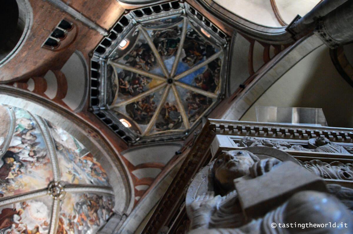 Interno Duomo di Piacenza e Cupola del Guercino