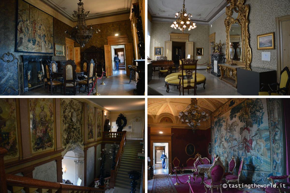 Villa Monastero, Varenna - Gli interni della casa museo