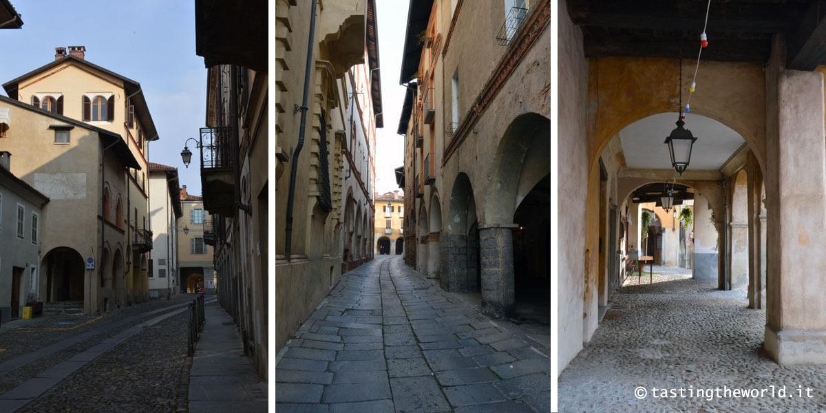Scorci e portici di Biella Piazzo