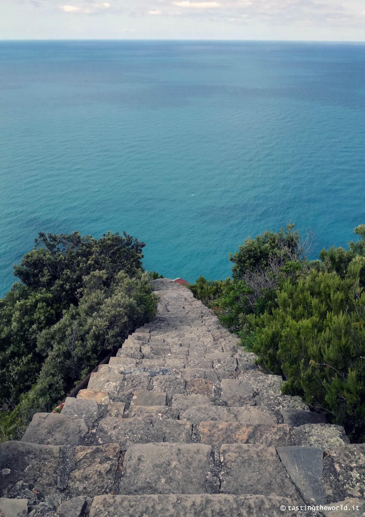 La scalinata di Monesteroli