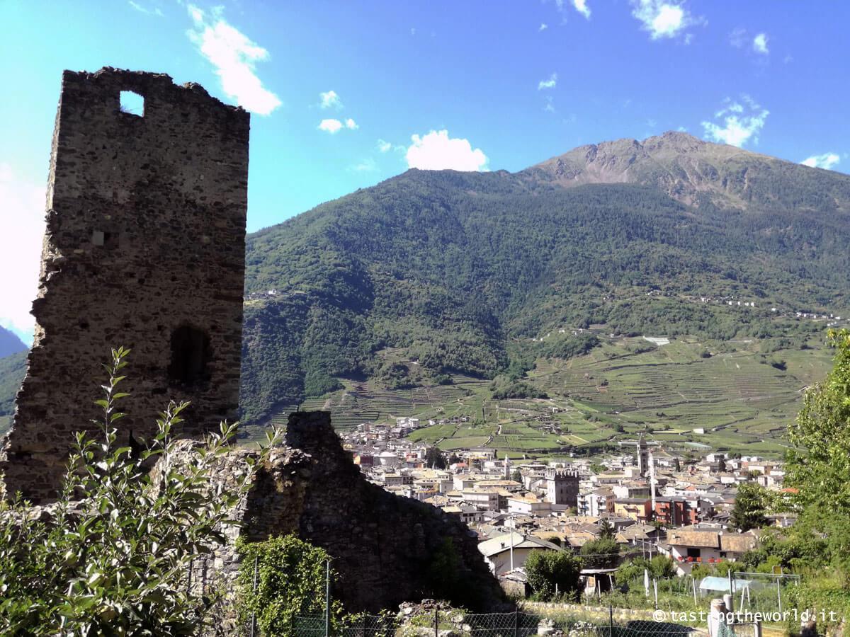 Castello di Santa Maria (Castellaccio), Tirano
