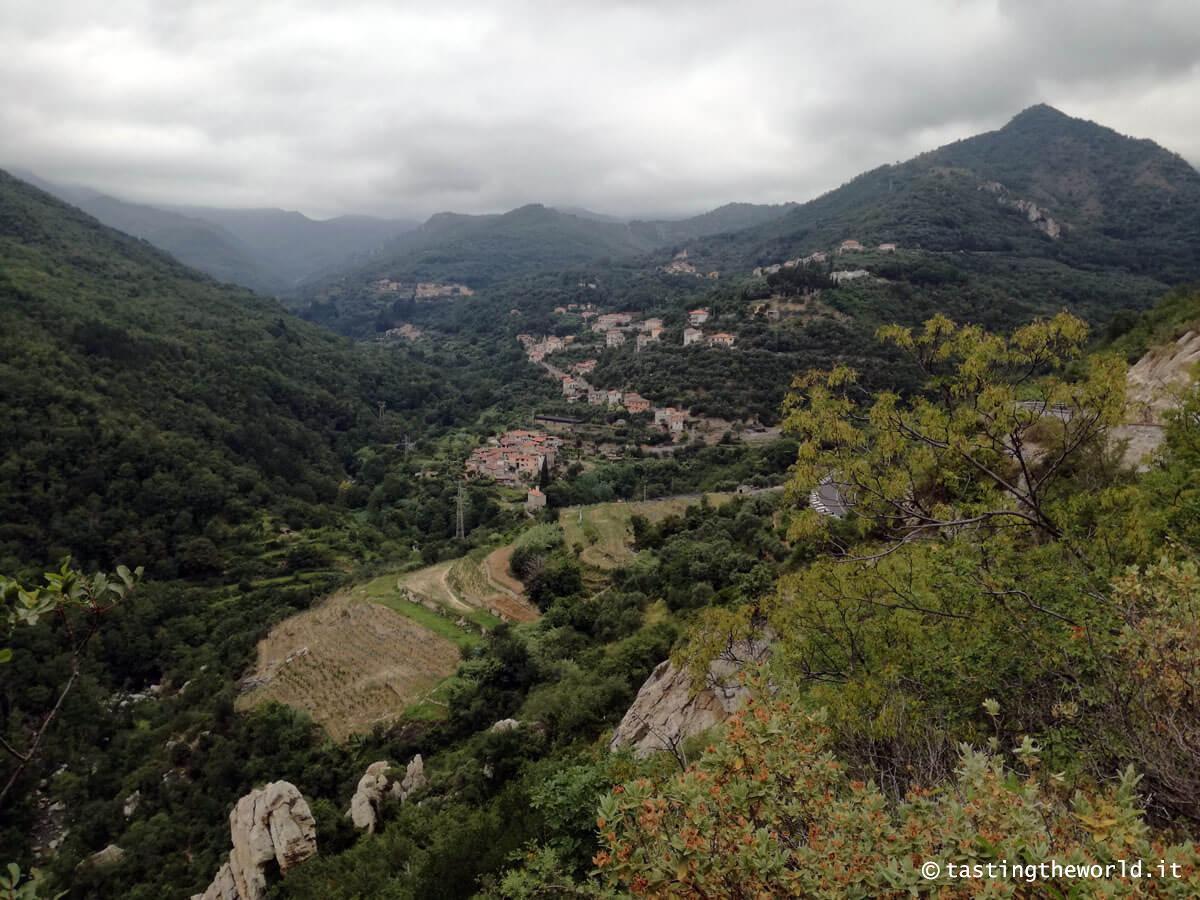 Val Neva: strada da Erli a Castelvecchio