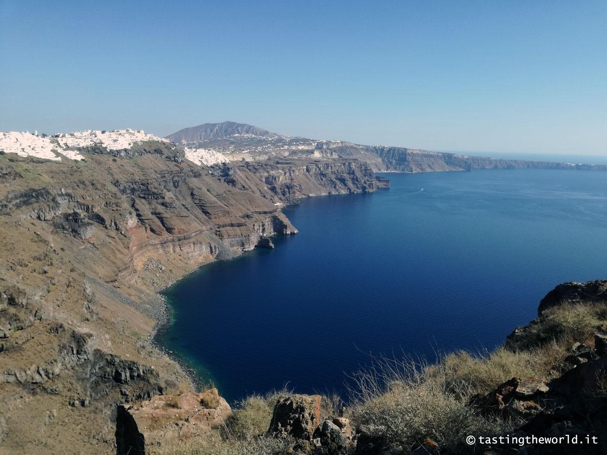 Santorini: da Firá a Oía a piedi
