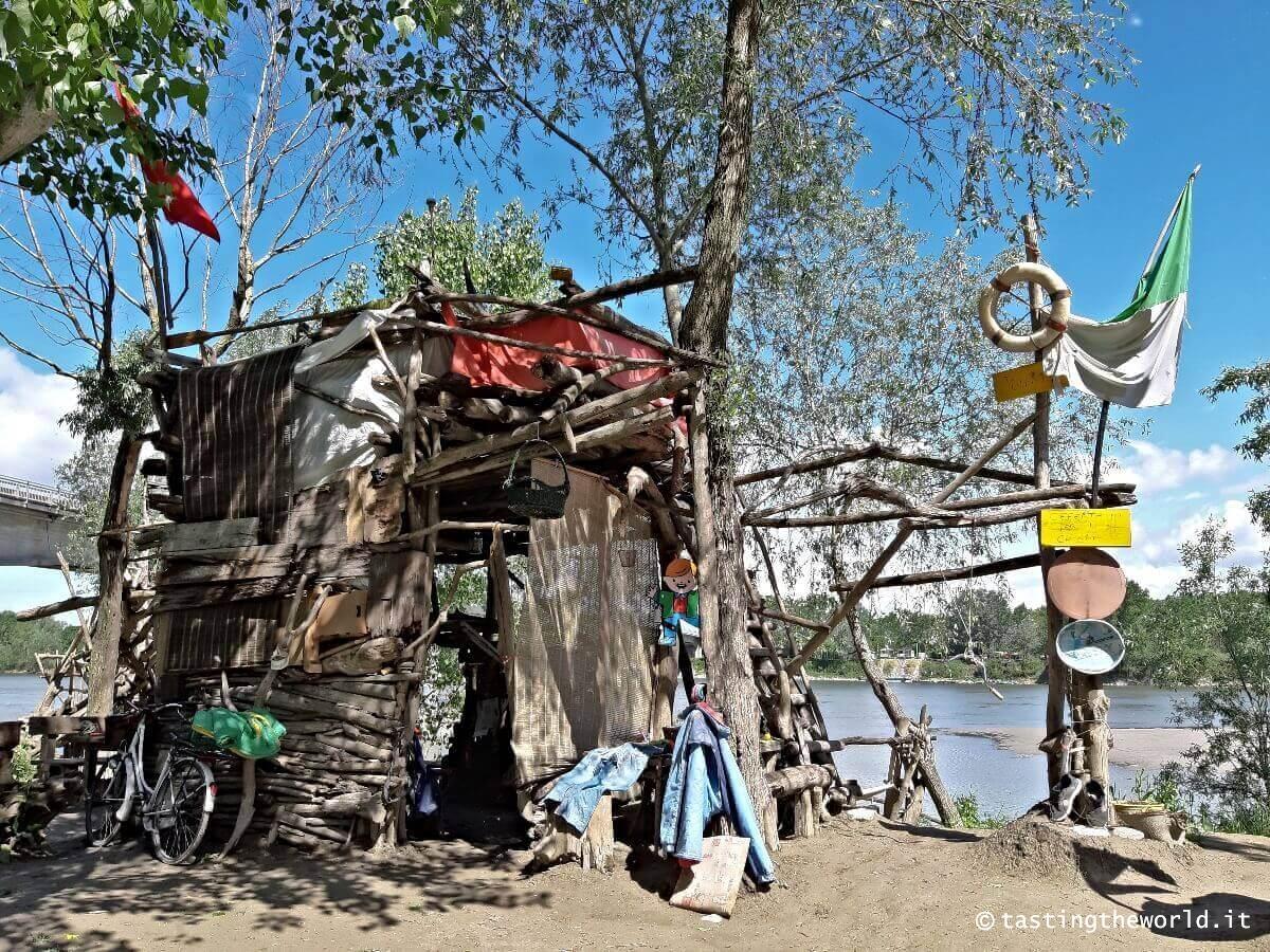 La Nave Jolanda del Re del Po a Boretto