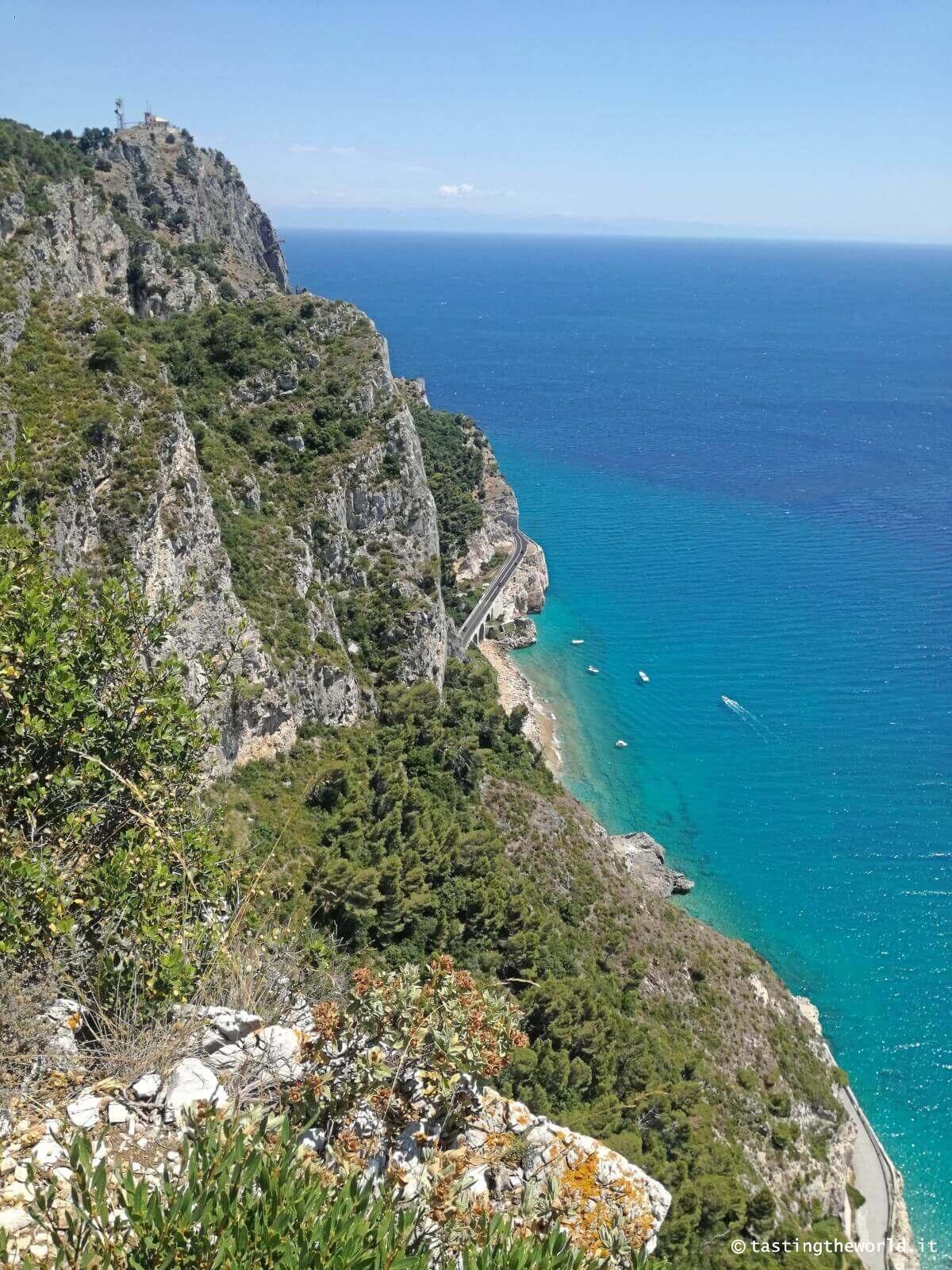 Il panorama dal Sentiero del pellegrino (Varigotti-Noli)